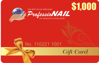 $1,000 professionail giftcard