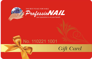 professionail gift card